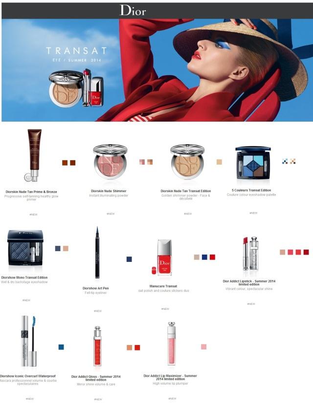 Dior Summer 2014 : Transat Edition
